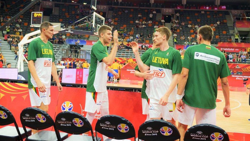 Pasaulio čempionatas: Lietuva-Kanada