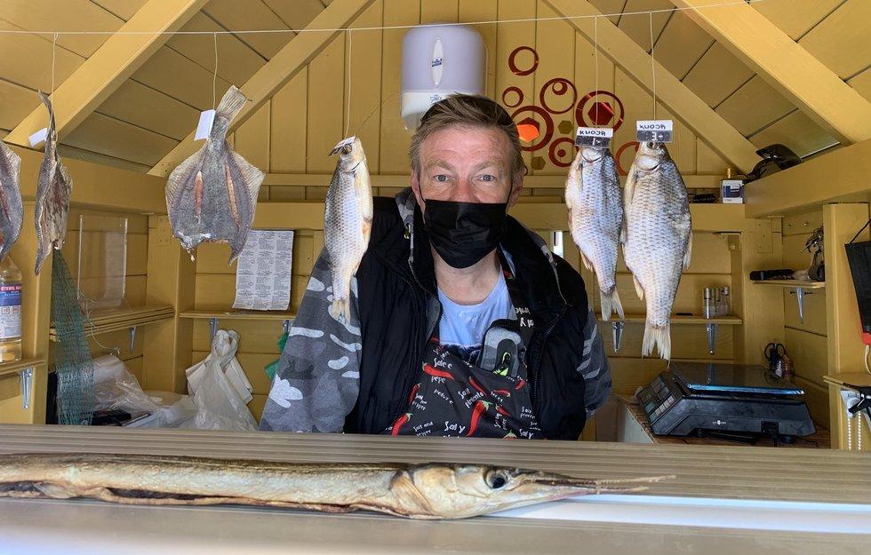 Žuvies pardavėjas Arvydas