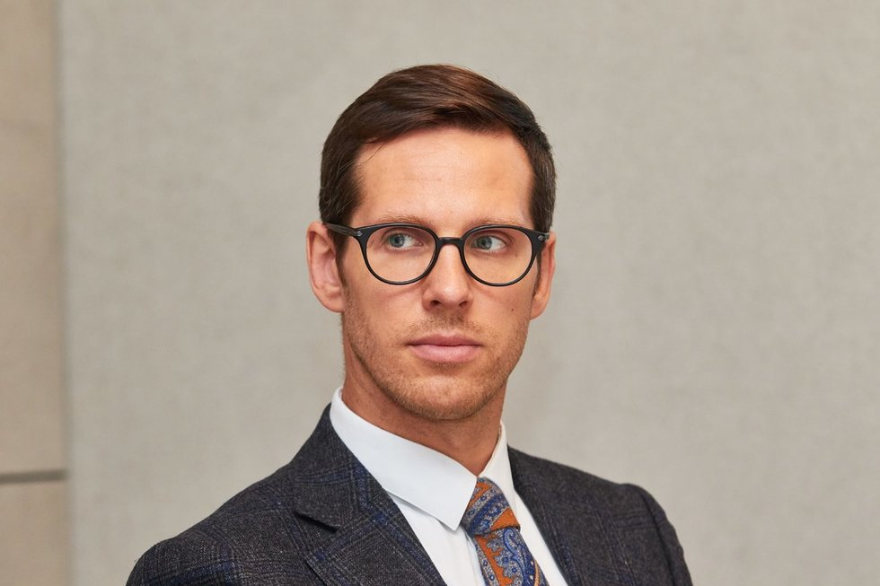 Lietuvos prekybos įmonių asociacijos vykdantysis direktorius Laurynas Vilimas (nuotr. Tv3.lt/Ruslano Kondratjevo)