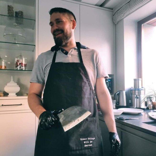 Mėsos ekspertas Deividas Saldukas