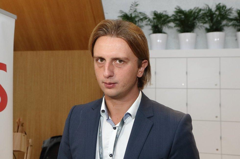 """Revolut"" prezidentas Nikolajus Storonskis (nuotr. Tv3.lt/Ruslano Kondratjevo)"