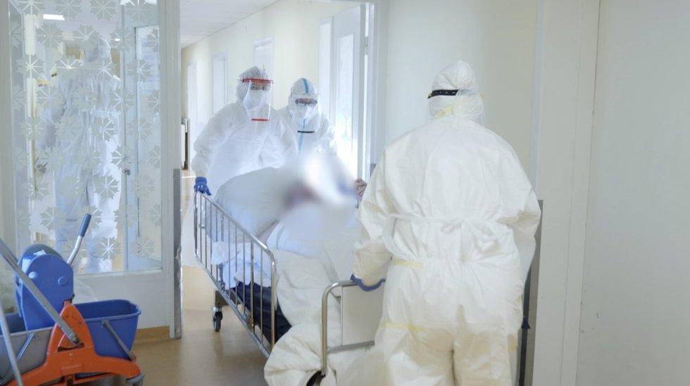 Vilniaus miesto klinikinės ligoninės Covid-19 reanimacija