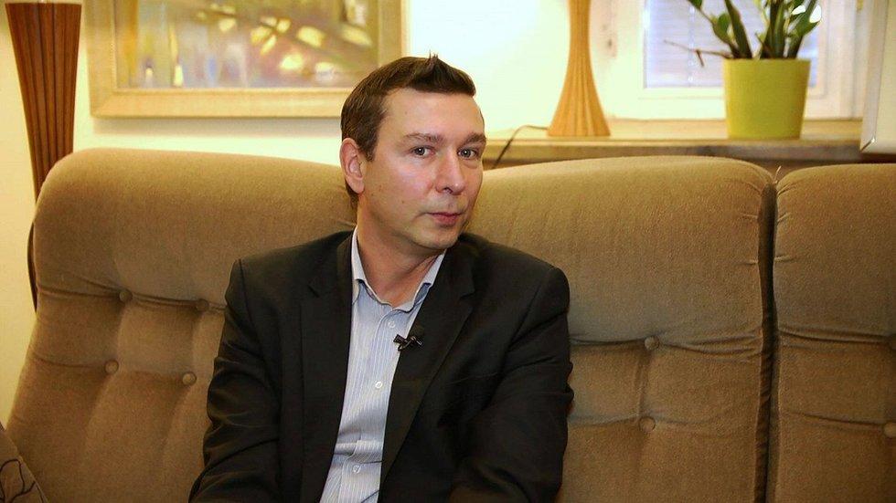 Psichologas Andrius Kaluginas (nuotr. TV3)