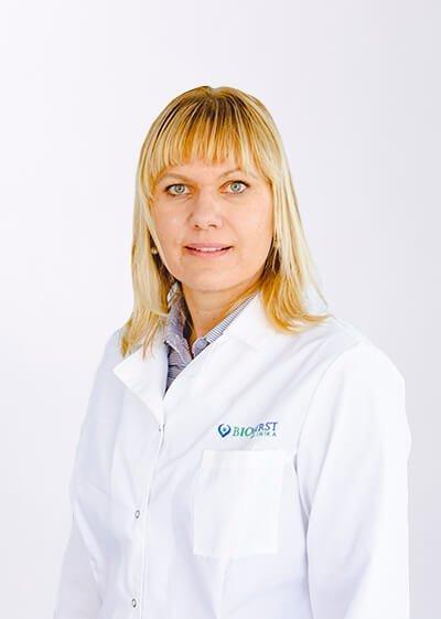 Dietologė Rūta Petereit (bioklinika.lt nuotr.)