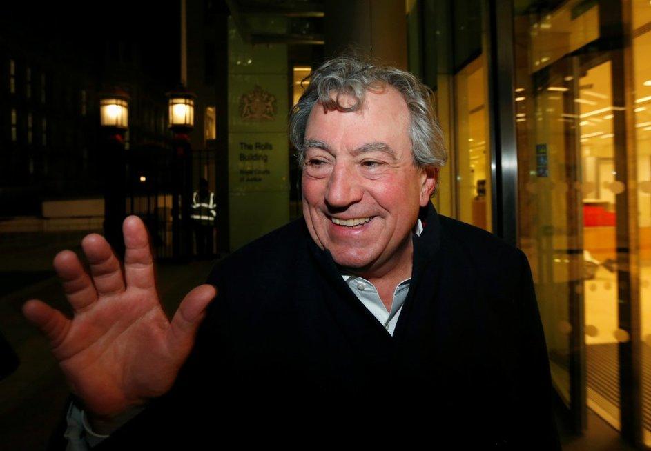 """Mirė Britanijos komikų kolektyvo """"Monty Python"""" narys T. Jonesas"""