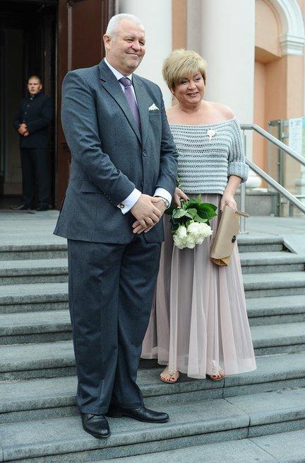 Edita Mildažytė su sutuoktiniu Gintautu Vyšniausku (nuotr. Eimanto Genio)