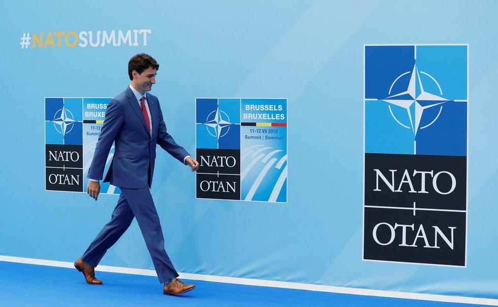NATO viršūnių susitikimas Belgijoje