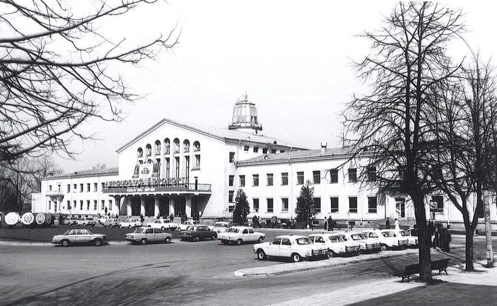 Vilniaus oro uostas apie 1980-1988 m.