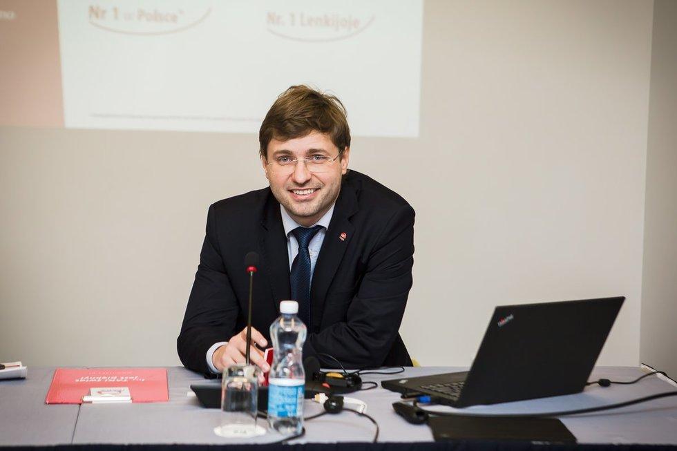 """""""Itaka Lietuva"""" generalinis direktorius Dominikas Milowskis (nuotr. bendrovės)"""