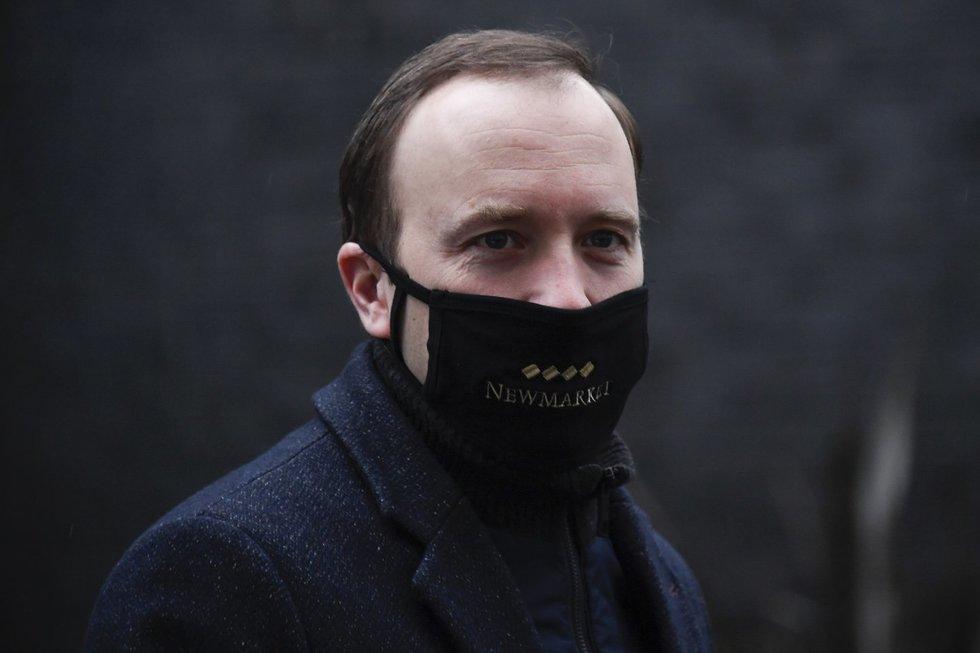 JK sveikatos apsaugos ministras M. Hancockas