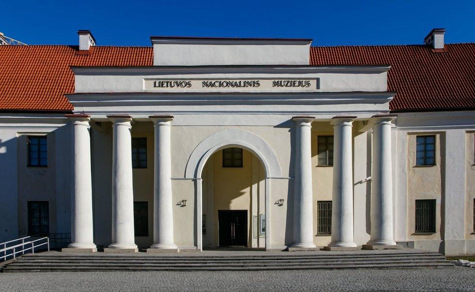 Lietuvos nacionalinis muziejus (nuotr. Tv3.lt/Ruslano Kondratjevo)