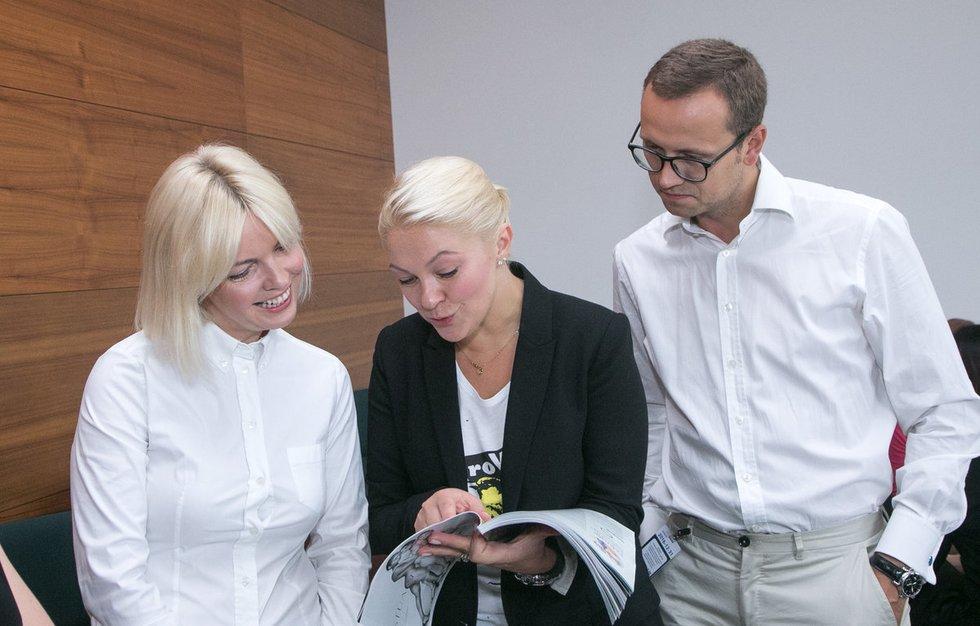 "Žurnalo ""Ikona"" rudens numerio pristatymas (nuotr. Tv3.lt/Ruslano Kondratjevo)"