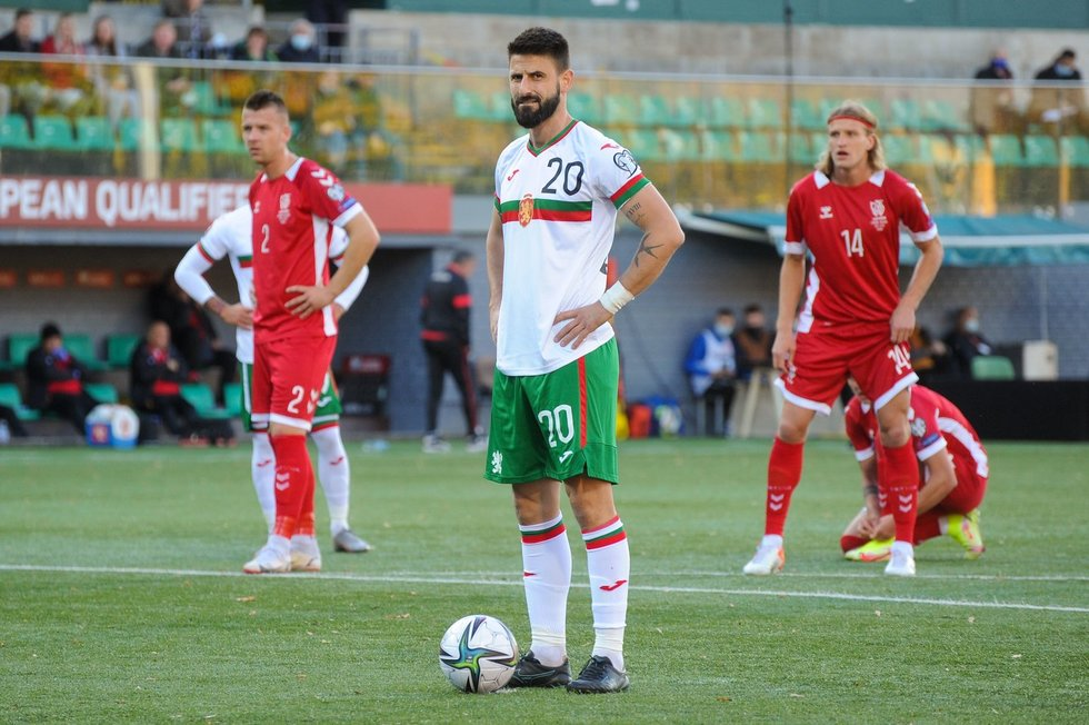 Lietuva – Bulgarija mačo momentas