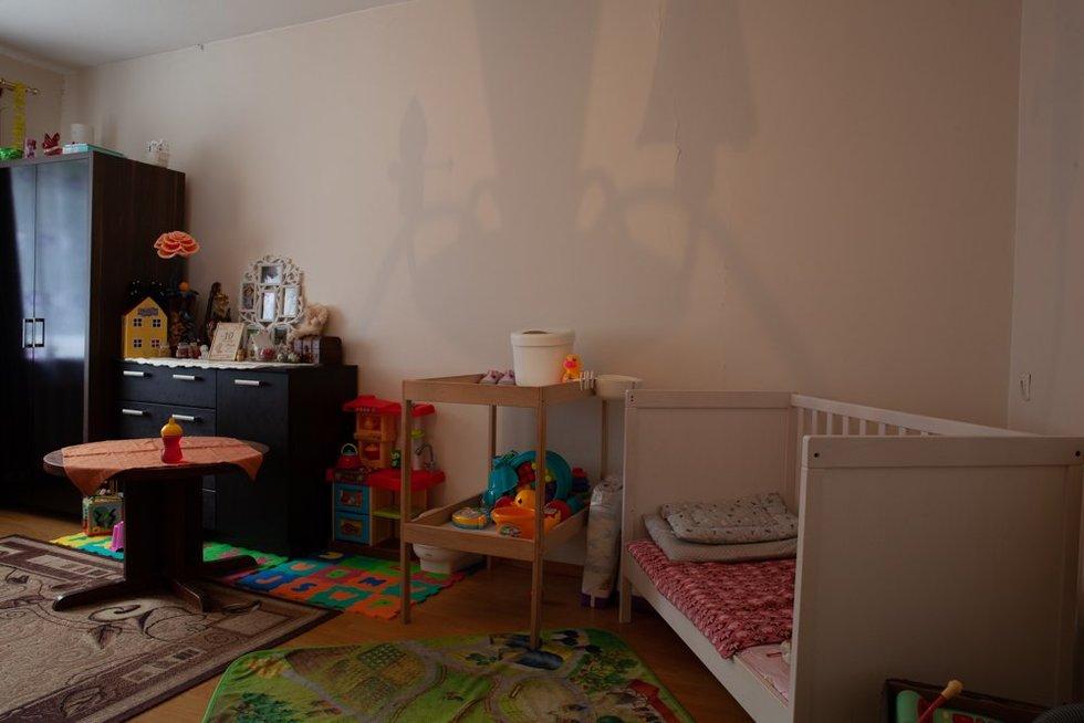 Vieno kambario butas prieš pokyčius