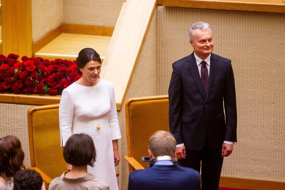 Nausėdos priesaika Seime (Irmantas Gelūnas/Fotobankas)