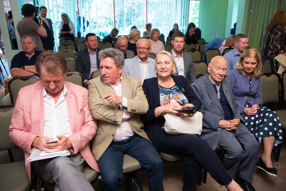 LSDP Seimo rinkimų programos pristatymas (nuotr. Justinas Auškelis/Fotodiena)