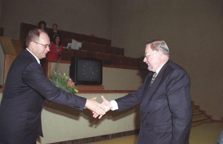Vytautas Landsbergis ir Gediminas Vagnorius