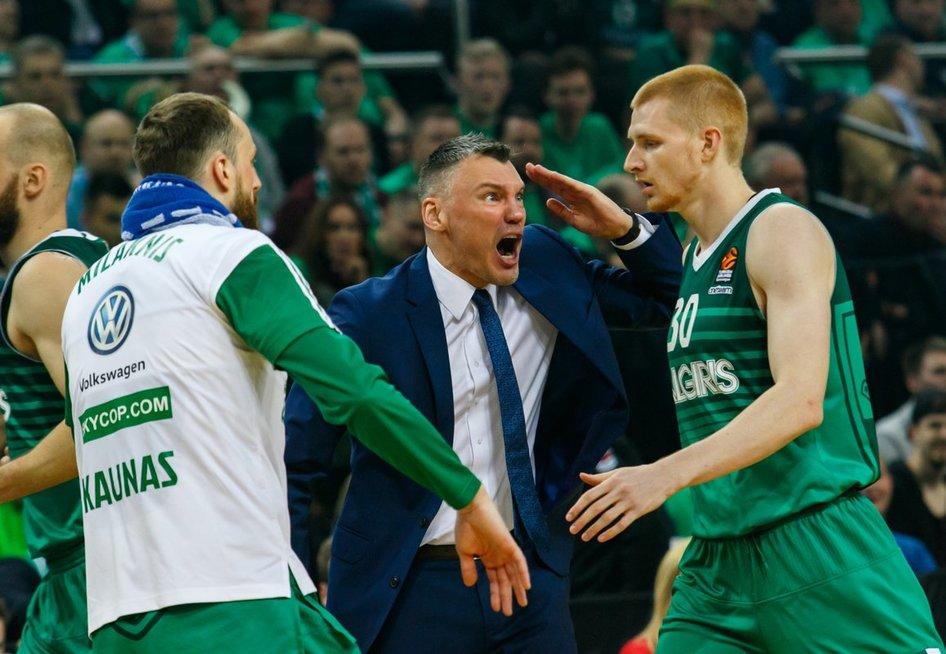 """Eurolyga: Kauno """"Žalgiris"""" – Pirėjo """"Olympiacos"""" (nuotr. Tv3.lt/Ruslano Kondratjevo)"""
