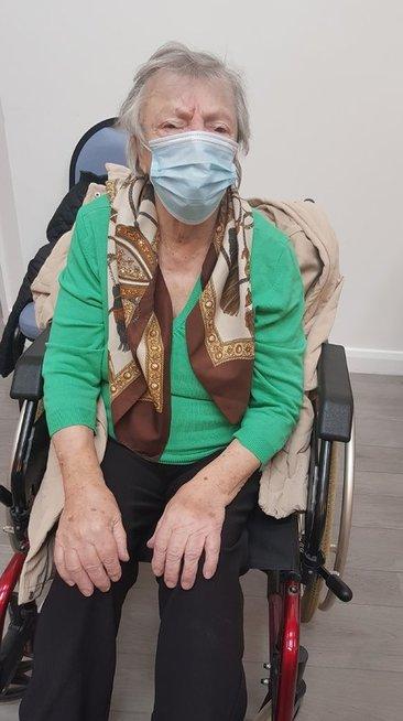 Marijona Sluckienė po Covid-19 vakcinos