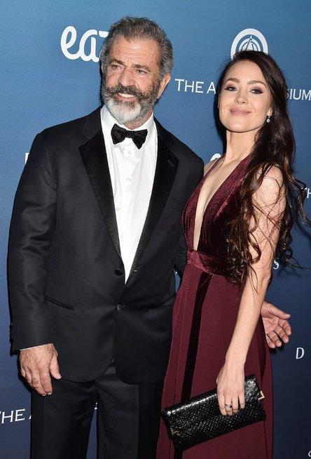 Mel Gibson ir Rosalind Ross