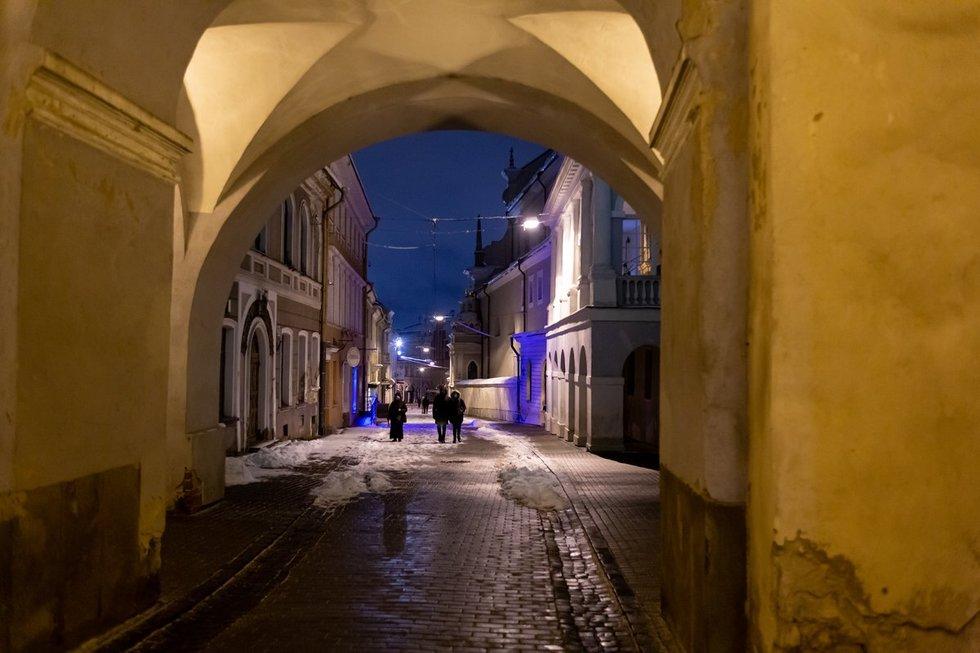 Karantinas sausį Vilniuje