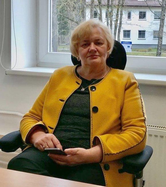 Vilniaus miesto psichikos sveikatos centro Psichosocialinės reabilitacijos skyriaus vedėja gydytoja psichiatrė Ona Davidonienė. Janinos Utkuvienės nuotr.