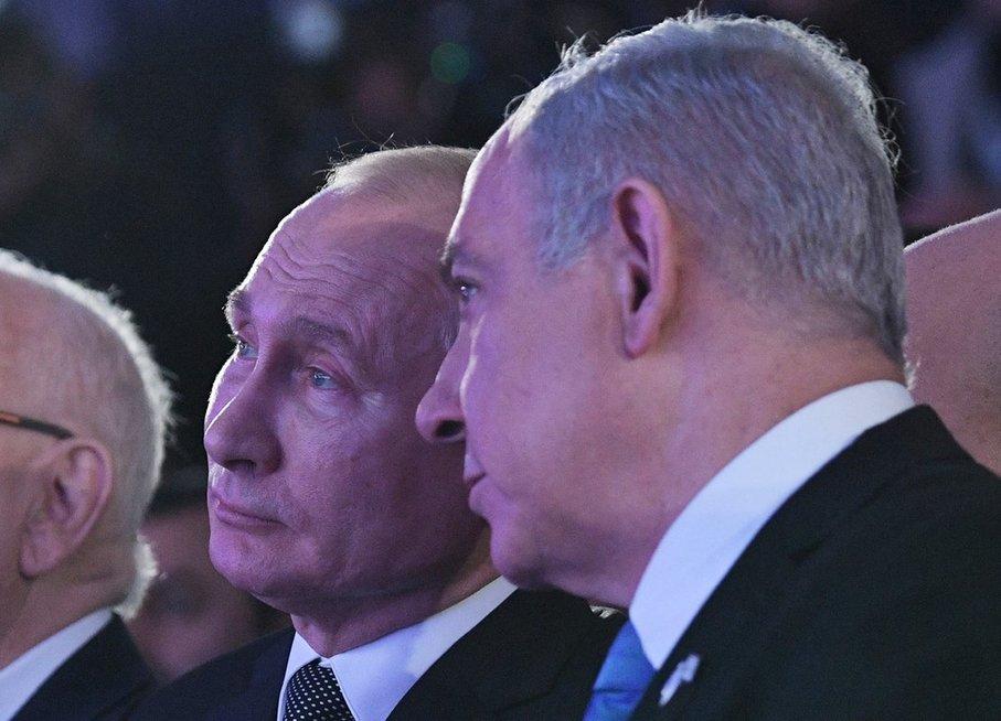 V. Putinas lankosi Izraelyje
