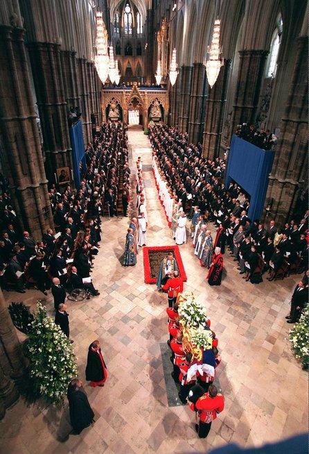 Princesės Dianos laidotuvės