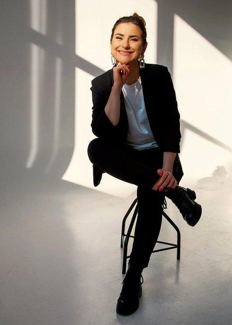 Liuda Sluinskytė-Jazzas plaukuose (nuotr. Rasa Virketytė)