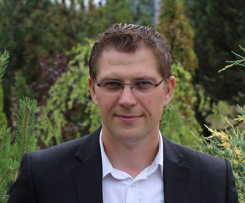 """Širvintų """"Atžalyno"""" progimnazijos specialusis pedagogas, logopedas Tomas Labanauskas. Asmeninio archyvo nuotr."""