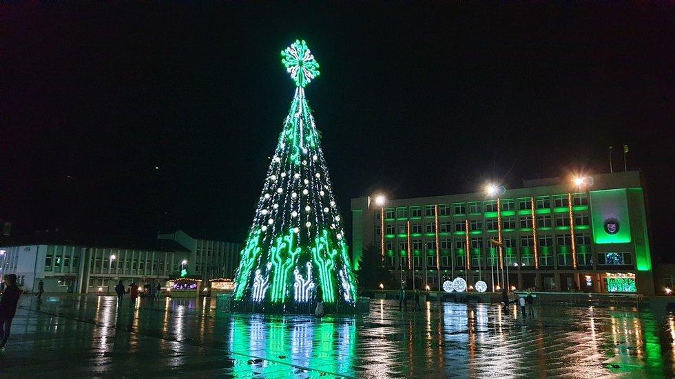 Marijampolės kalėdinė eglė 2019