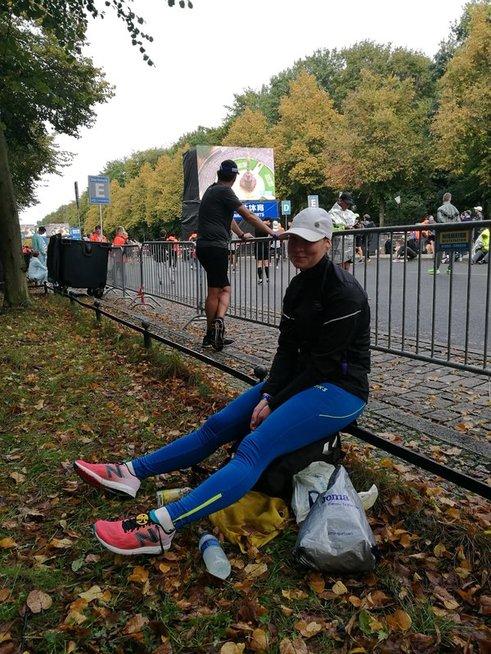 Nubėgusi Berlyno maratoną Aušra Garunkšnytė suprato, kad tai – jos rungtis.