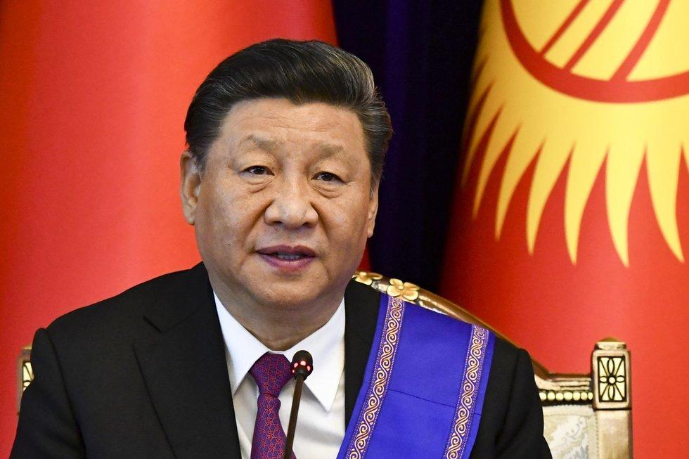 Kinijos prezidentas Xi Jinpingas (nuotr. SCANPIX)