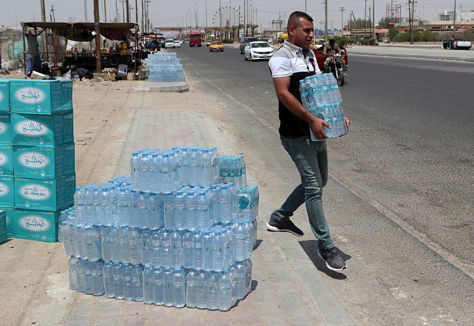 Irakas, vandens trūkumas (nuotr. SCANPIX)