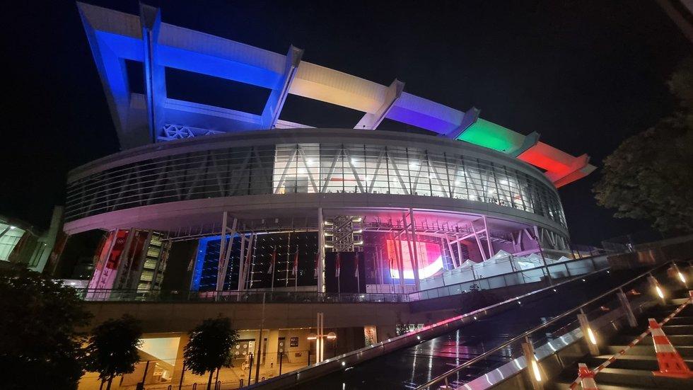 """Krepšinio turnyras Tokijuje vyksta įspūdingoje """"Saitama Super"""" arenoje"""