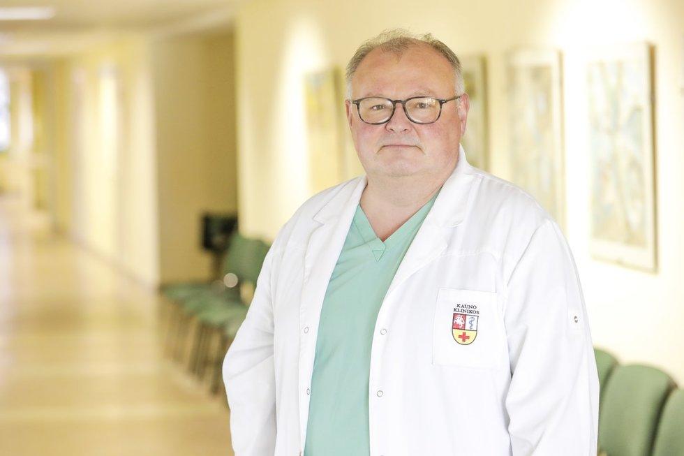 Prof. dr. Ramūnas Unikas (Nuotr. Kauno klinikų)