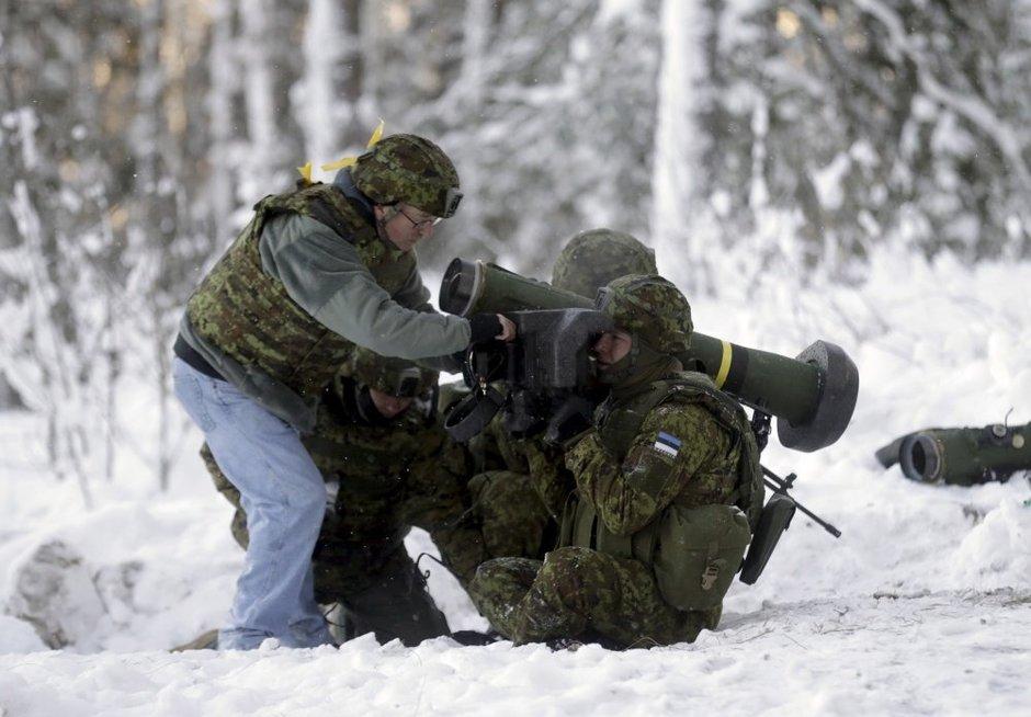 """""""Javelin"""": tankų žudikas, keliantis baimę Rusijai (nuotr. SCANPIX)"""