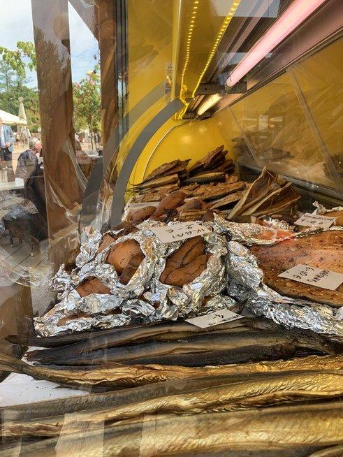 Birutės Navickaitės žuvies kioskelis