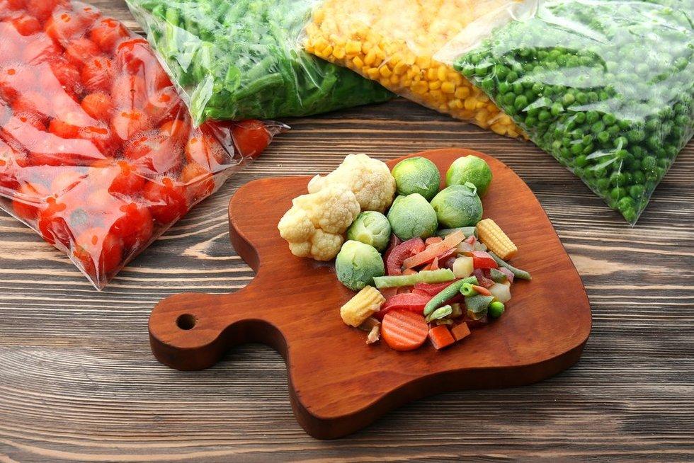 Šaldytos daržovės (nuotr. shutterstock.com)