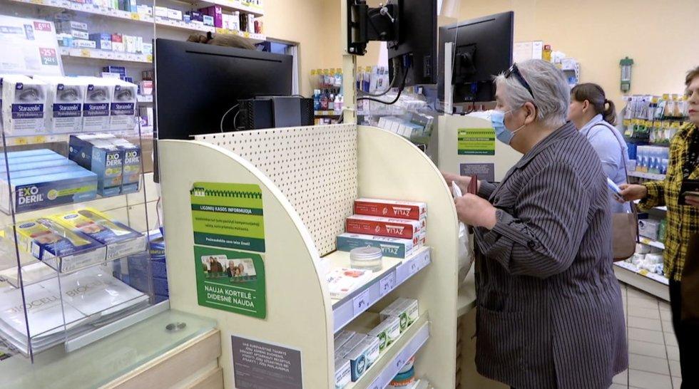 Lėtinių ligų pacientai kovoja dėl vaistų: pigiausio priemoka gali siekti ir 250 eurų