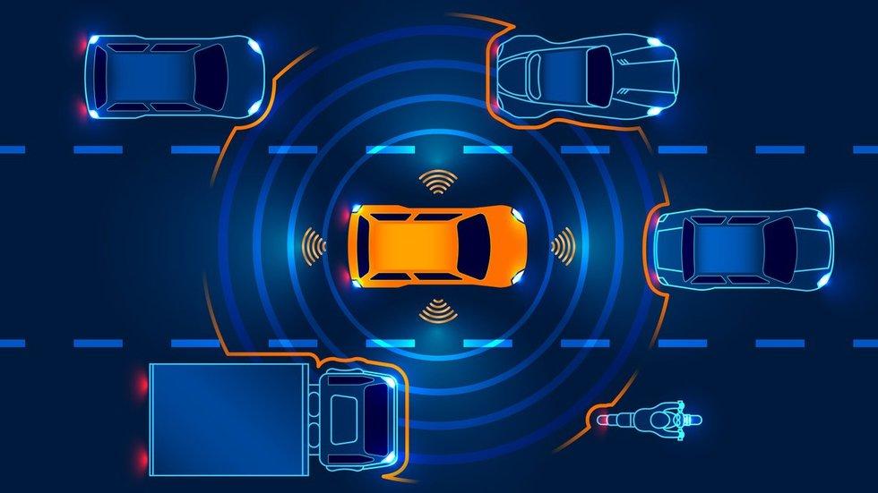 Saugaus vairavimo sistemos (nuotr. 123rf.com)