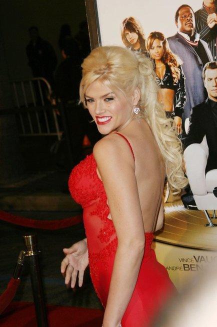 Anna-Nicole Smith ir J. Howardas Marshallas (nuotr. Vida Press)