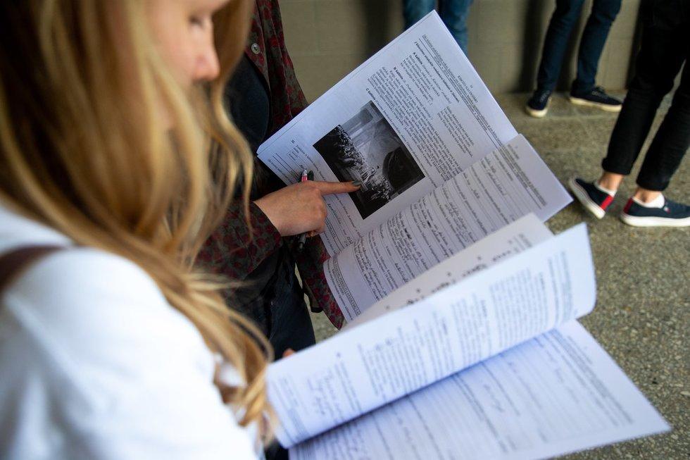 Abiturientai po valstybinio istorijos brandos egzamino