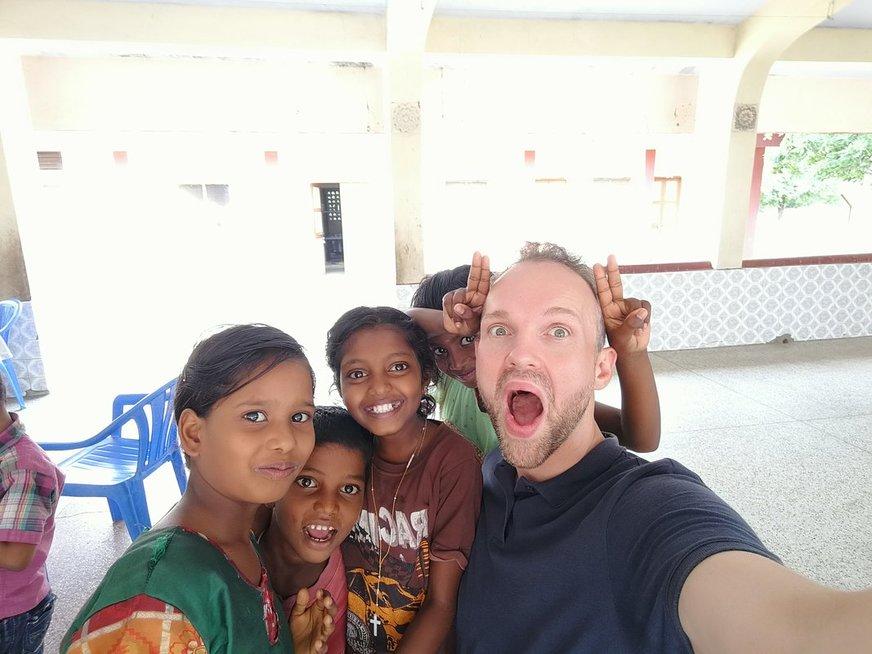 Lietuvių misija Indijoje  (nuotr. asm. archyvo)
