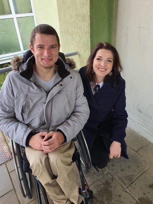 Viktoras Topol ir Kristina Rimienė