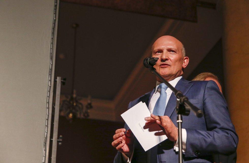 LDSF prezidentas Romualdas Bakutis (nuotr. Fotodiena.lt/Eglė Mačiulskytė)