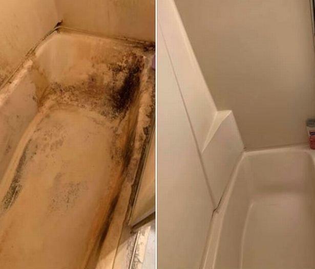 Iš vonios pašalino didžiausius nešvarumus