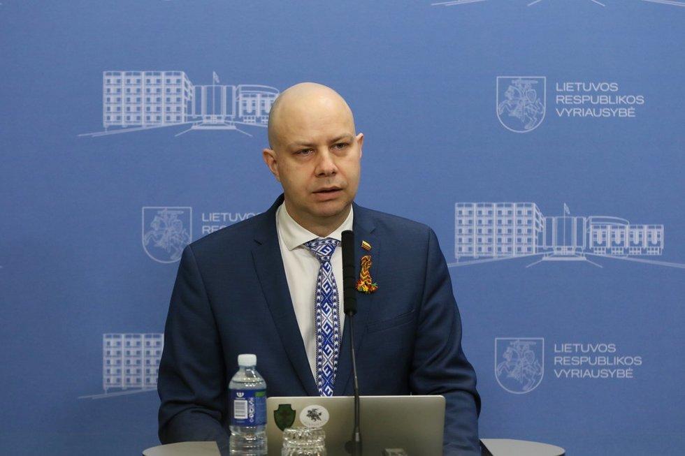 Valstybės ekstremaliųjų situacijų operacijų centro  spaudos konferencija dėl naujų užsikrėtimo koronavirusu atvejų