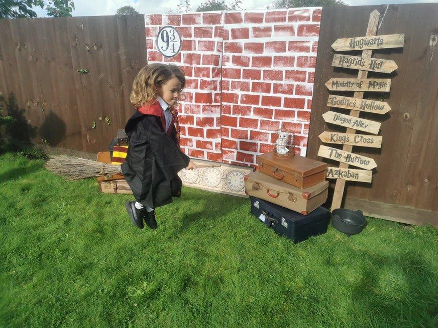Erika dukrai surengė magišką gimtadienį