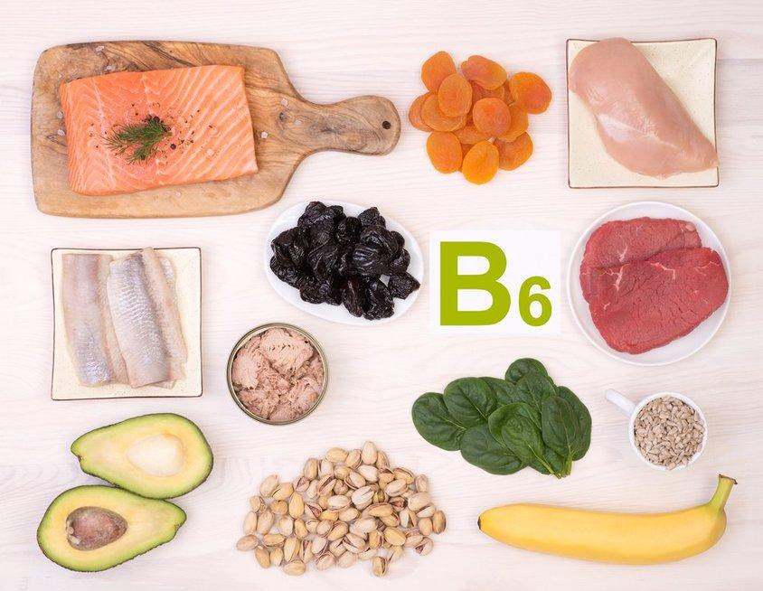 Bitaminas B6 (nuotr. Fotolia.com)